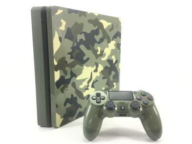 sony ps4 slim 1000 call of duty wwii camuflaje edition