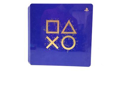 sony ps4 slim 500 gb days of play azul edition