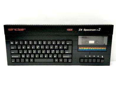 consola spectrum sinclair zx spectrum+2