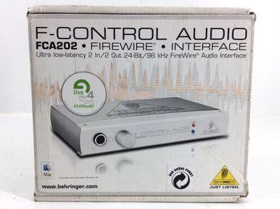 controlador behringer fca202