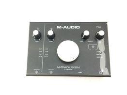 controlador midi m audio m-track 2x2m