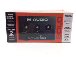 controlador m-audio m-track solo