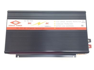 convertidor genius power g-12-100