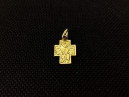 crucifijo oro primera ley (oro 18k)