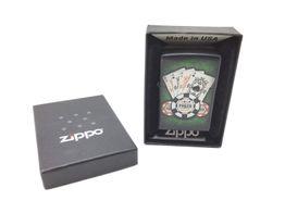 encendedor zippo poker