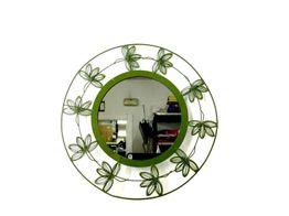 espejo baño sin marca verde con hojas