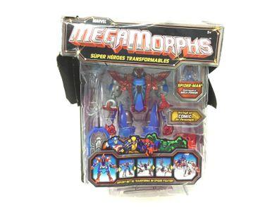 figura de ação marvel megamorphs - spider-man
