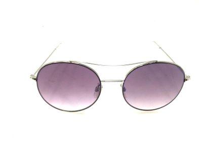 gafas de sol caballero/unisex otros plateado y violeta