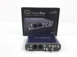 grabador digital m-audio fast track pro