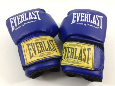 guantes  otros azul
