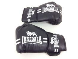 guantes lonsdale london negro