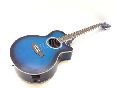 guitarra acustica academy 05ae t/blue