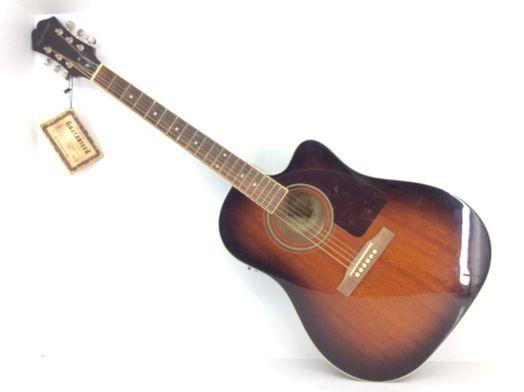 guitarra acustica epiphone aj-220sce/mb