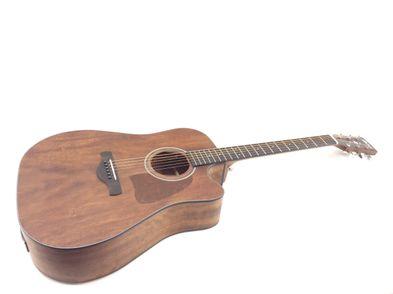 guitarra acústica ibanez aw54ce-opn