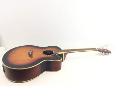 guitarra acústica washburn wj7sceatbm-w