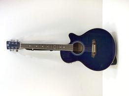 guitarra clasica oqan gca41ce blue