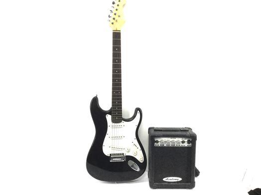 guitarra electrica academy pack guitarra electrica con amplificador academy ap-15g