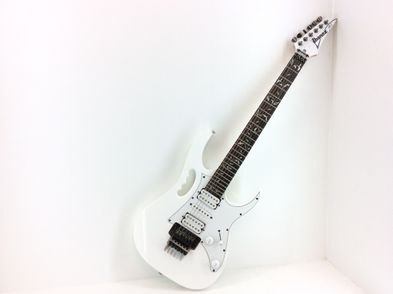 guitarra electrica ibanez jemjr-wh