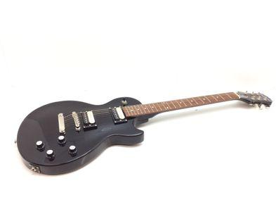 guitarra elétrica epiphone les paul studio lt ebony