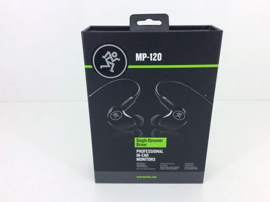 in ear mackie mp120