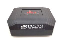 placa de som outro db12 active direct box (dbxdb12)