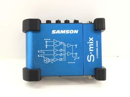 placa de som outro s-mix mini 5-canais e mixer