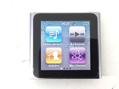 ipod apple nano 6 gen 8 gb a1366