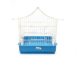 jaula de pajaros otros azul