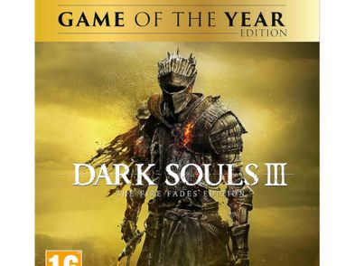 dark souls iii the fire fades edition - goty ps4