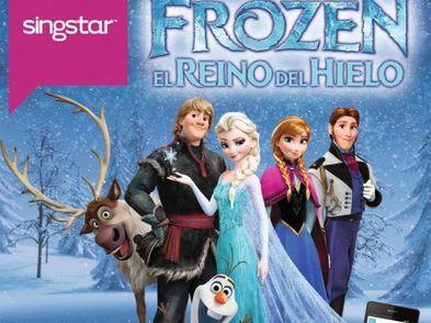 singstar disney frozen ps4