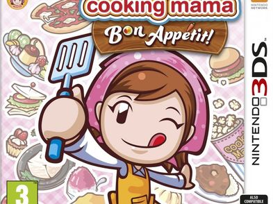 cooking mama bon appetit 3ds