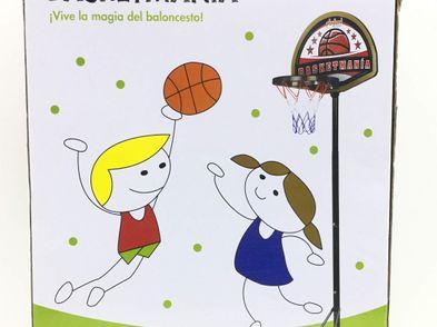 juego al aire libre playland basketmania
