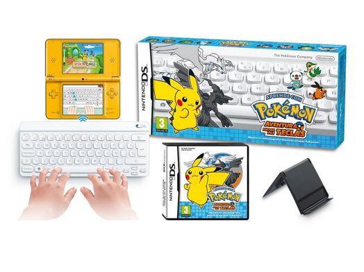 aprende con los pokemon aventura entre las teclas nds