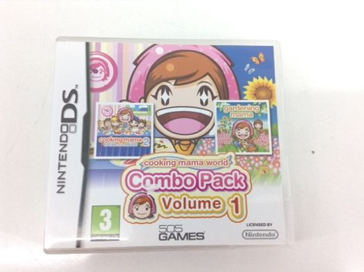 cooking mama world combo pack volume 1 nds