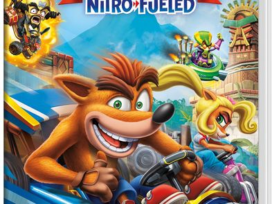 ctr crash team racing nitro fueled n-switch