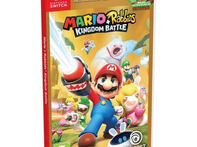 mario+rabbids kingdom battle gold n-switch