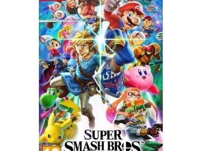 super smash bros ultimate n-switch