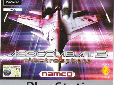 ace combat 3 platinum ps1