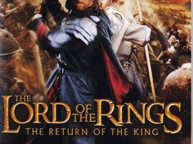 el senor de los anillos el retorno del rey ps2