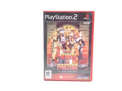 the king of fighters 2000/2001 ps2