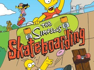 the simpsons skateboarding ps2 version reino unido