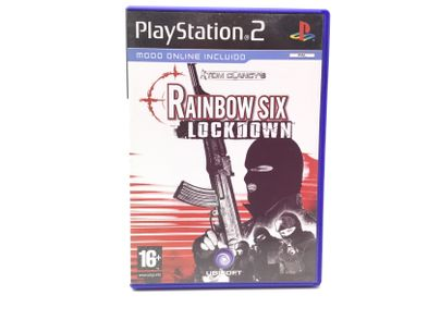 tom clancys rainbow six lockdown ps2