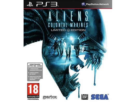 alien colonial marines limited edition ps3