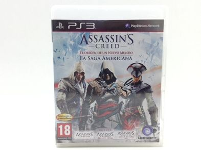 assassins creed birth of a new world-the american saga ps3