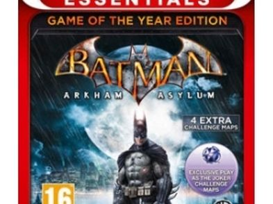 batman arkham asylum goty essentials ps3