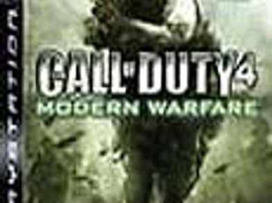 call of duty 4 modern warfare goty ps3