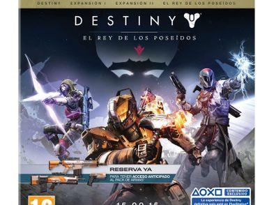 destiny: el rey de los poseidos edicion legendaria ps3