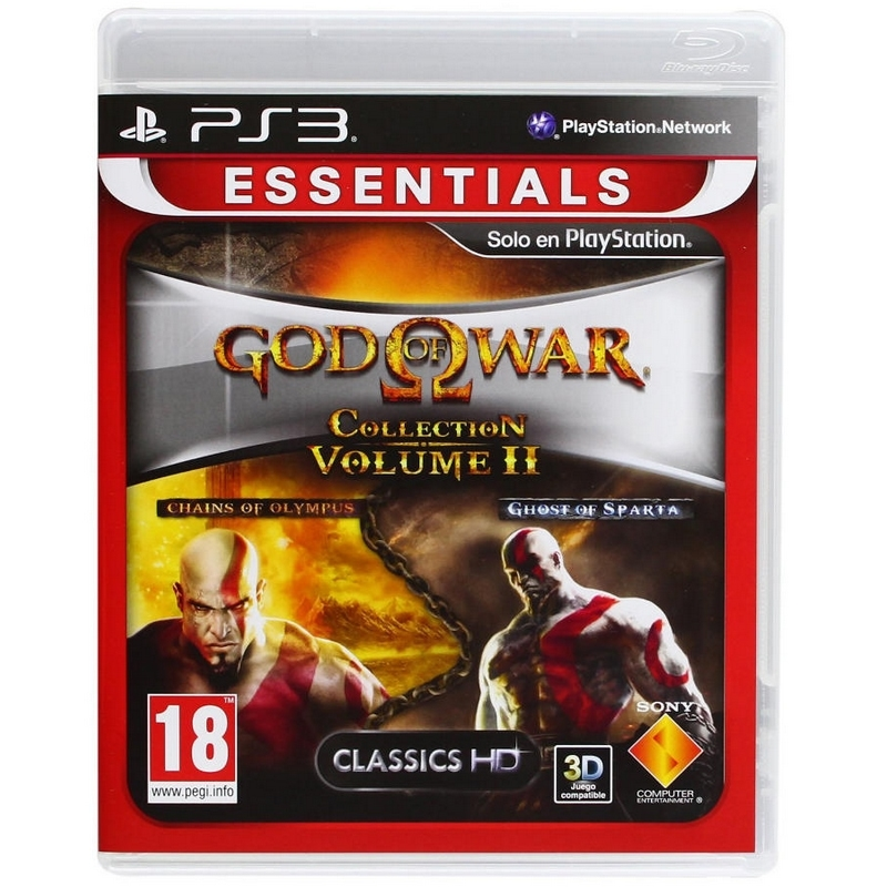 GOD OF WAR COLLECTION II ESSENTIALS PS3