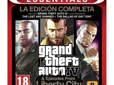 grand theft auto iv complete edition essentials ps3