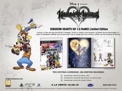 kingdom hearts hd i.5 remix limited edition ps3